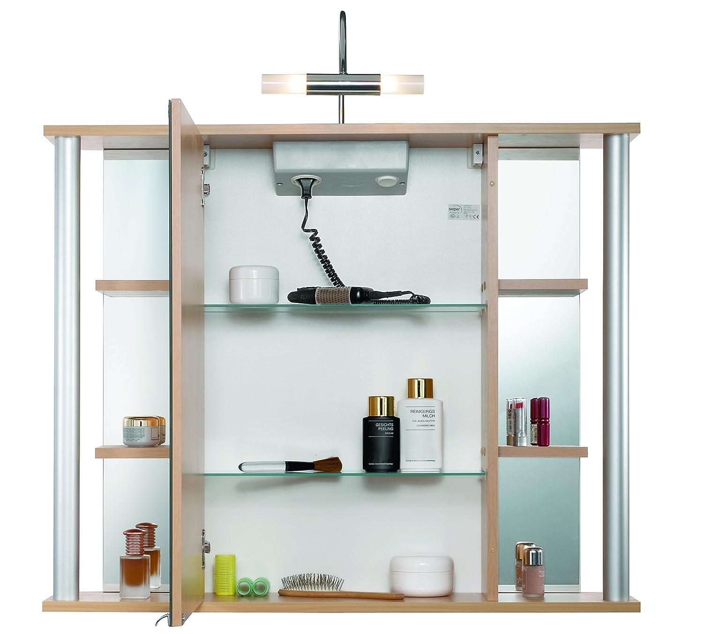 Gro artig sieper spiegelschrank zeitgen ssisch die for Billige deckenlampen