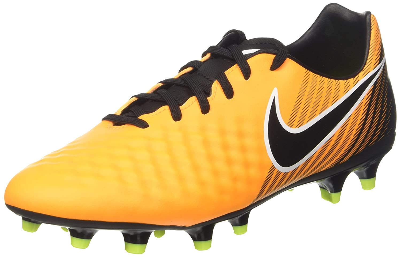 TG. 44 EU Nike Magista Onda II DF FG Scarpe da Calcio Uomo Arancione Laser