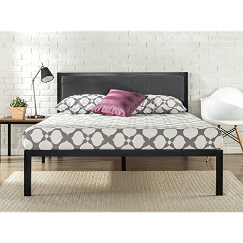 Full Upholstered Bed Amazon Com