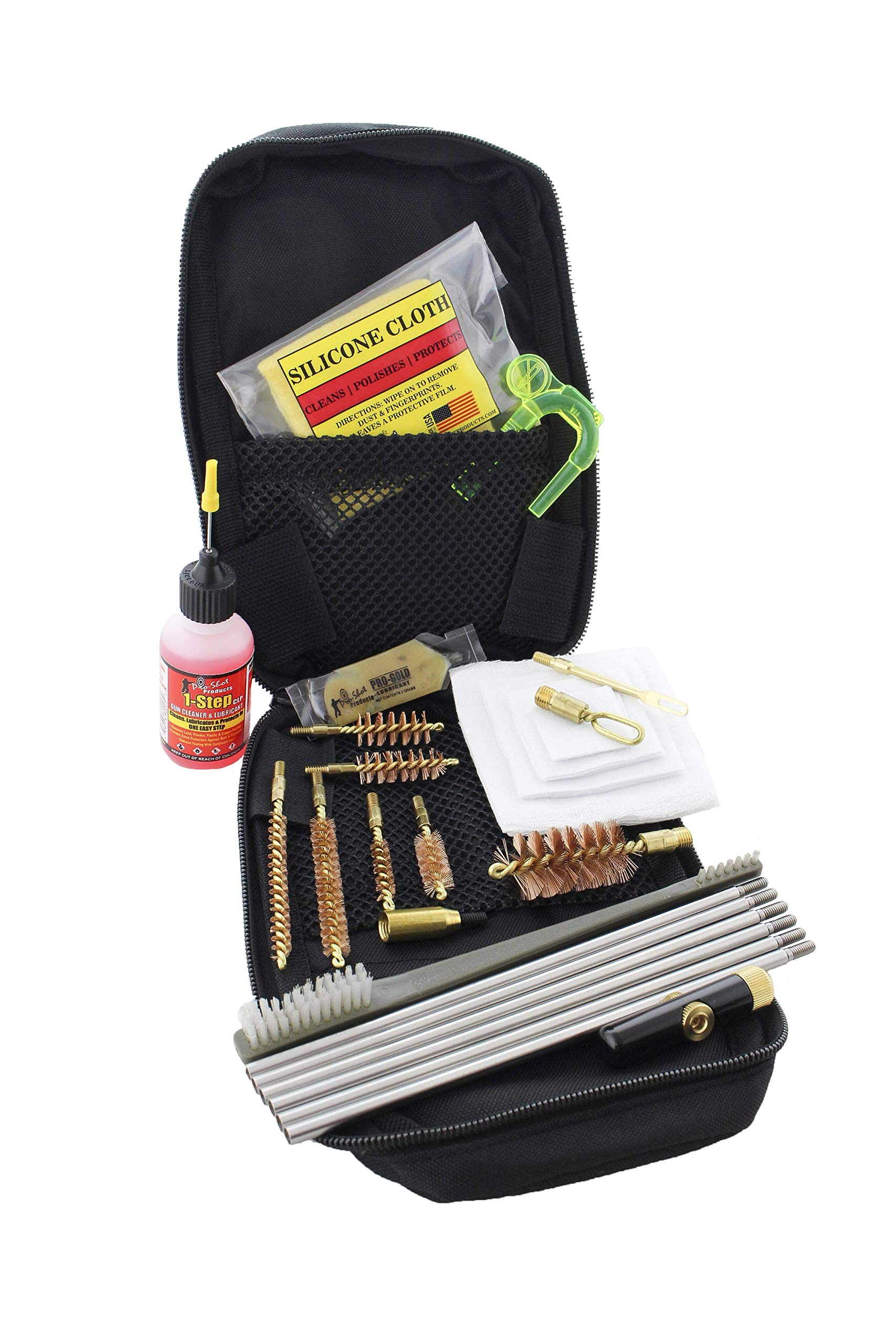 Pro Shot Tactical Universal .22-12-Gauge Cleaning Kit