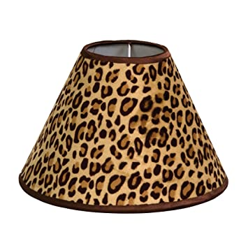 Amazon trend lab berry leopard lamp shade baby trend lab berry leopard lamp shade aloadofball Images