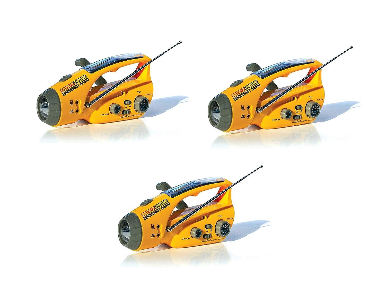 輝い 安全-T-Proof ソーラー、ハンドクランク緊急ラジオ、フラッシュライト Pack、ビーコン 2 安全-T-Proof、携帯電話充電器 2 Pack B07KKNSG8Z, r2-style:88ca85d9 --- itourtk.ru