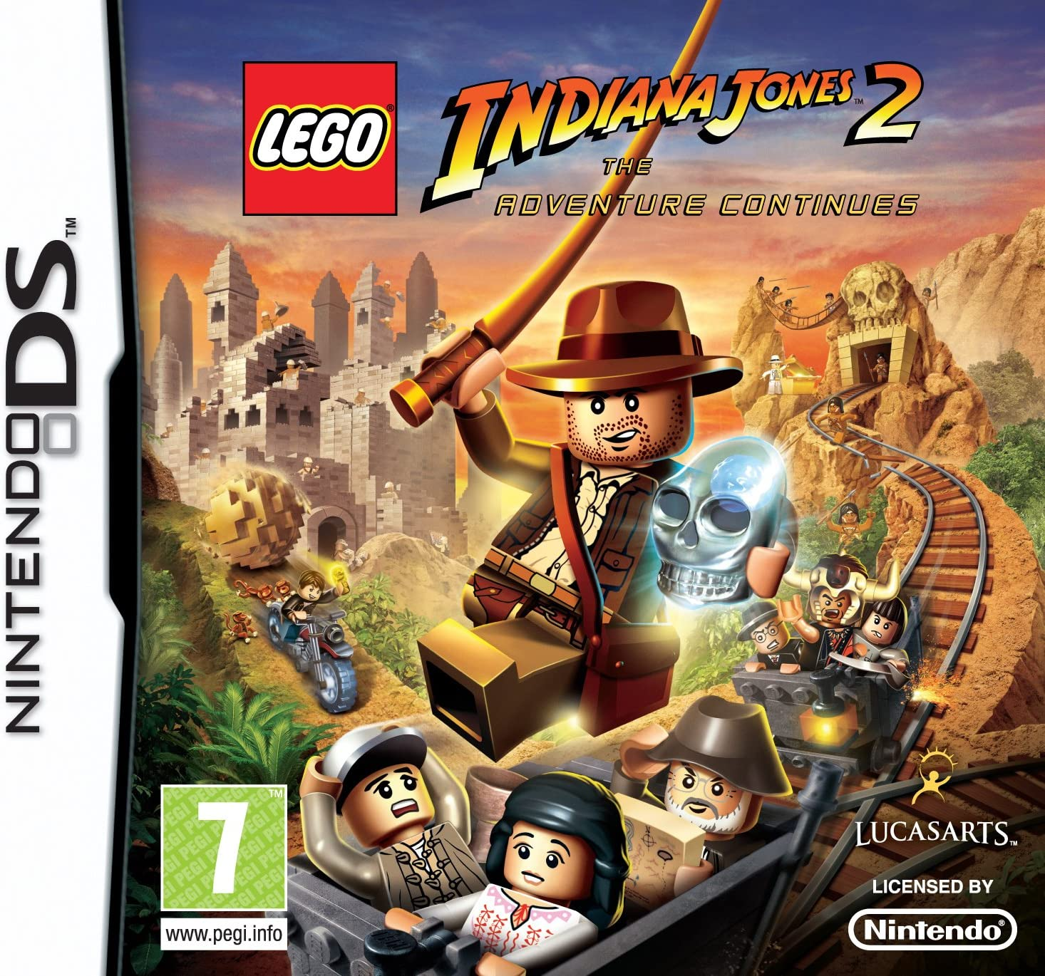 Lego Indiana Jones 2: The Adventure Continues (Nintendo DS ...