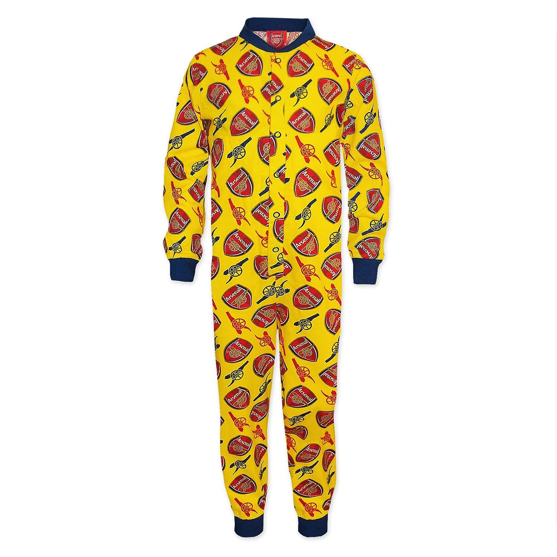 Arsenal FC - Pijama de una pieza para niños - Producto oficial ...