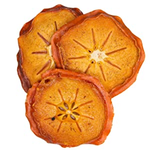 Bella Viva Orchards Organic Dried Persimmons, Sweet no Sugar Added, 1 lb of Dried Fruit