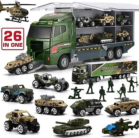 【MATERIAL RESISTENTE Y ECOLÓGICO】En comparación con los otros juguetes militares de plástico puro, n