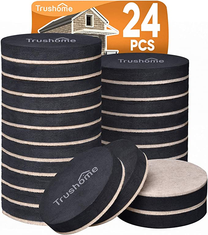 2 x  Pack Of 4 Furniture Sliders 70mm Move Heavy Furniture With Ease
