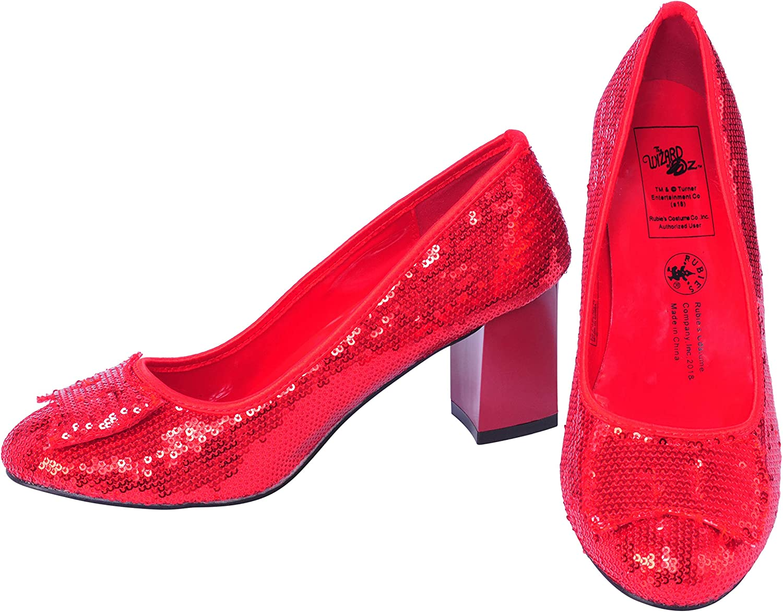 Rubies Scarpe con Paillettes Ufficiali di Dorothy del Mago di Oz S Costume per Adulti