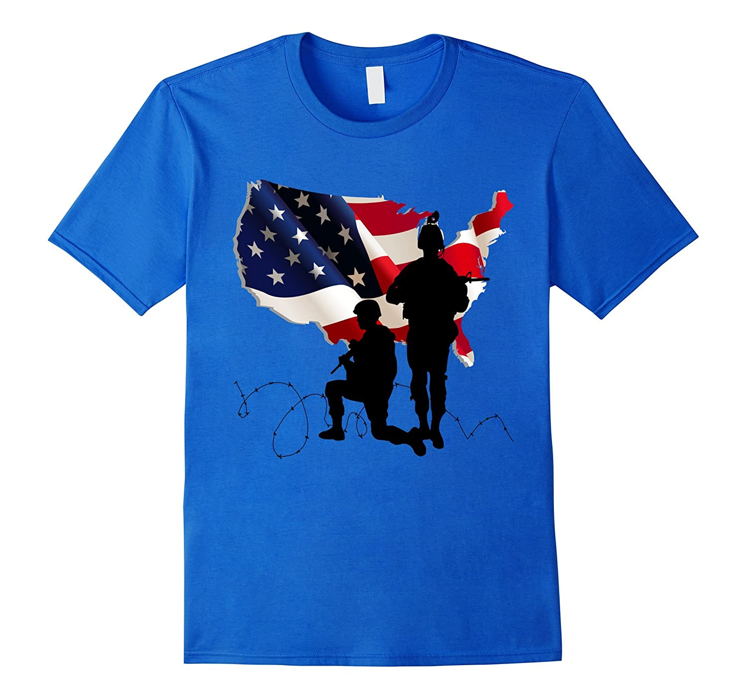 Thank you Veterans DAD T-Shirt