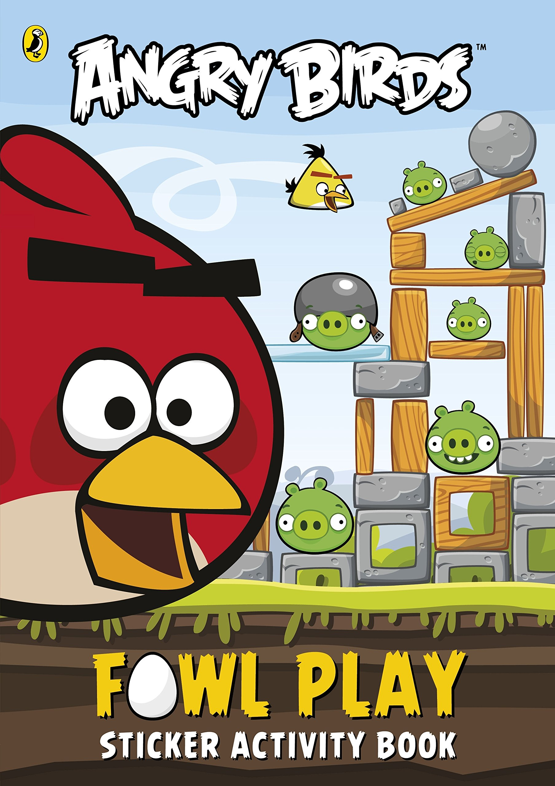 Download Angry Birds: Fowl Play Sticker Activity Book pdf epub