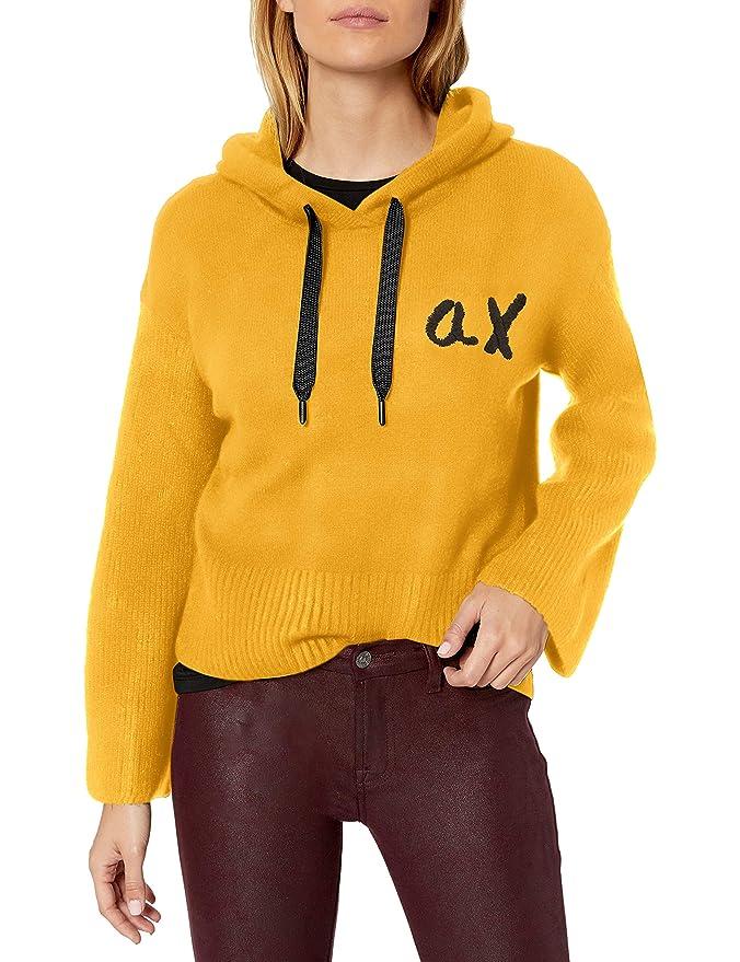 Armani Exchange 阿玛尼 A|X 女式宽松套头毛衣 L码3折$39.06 海淘转运到手约¥319