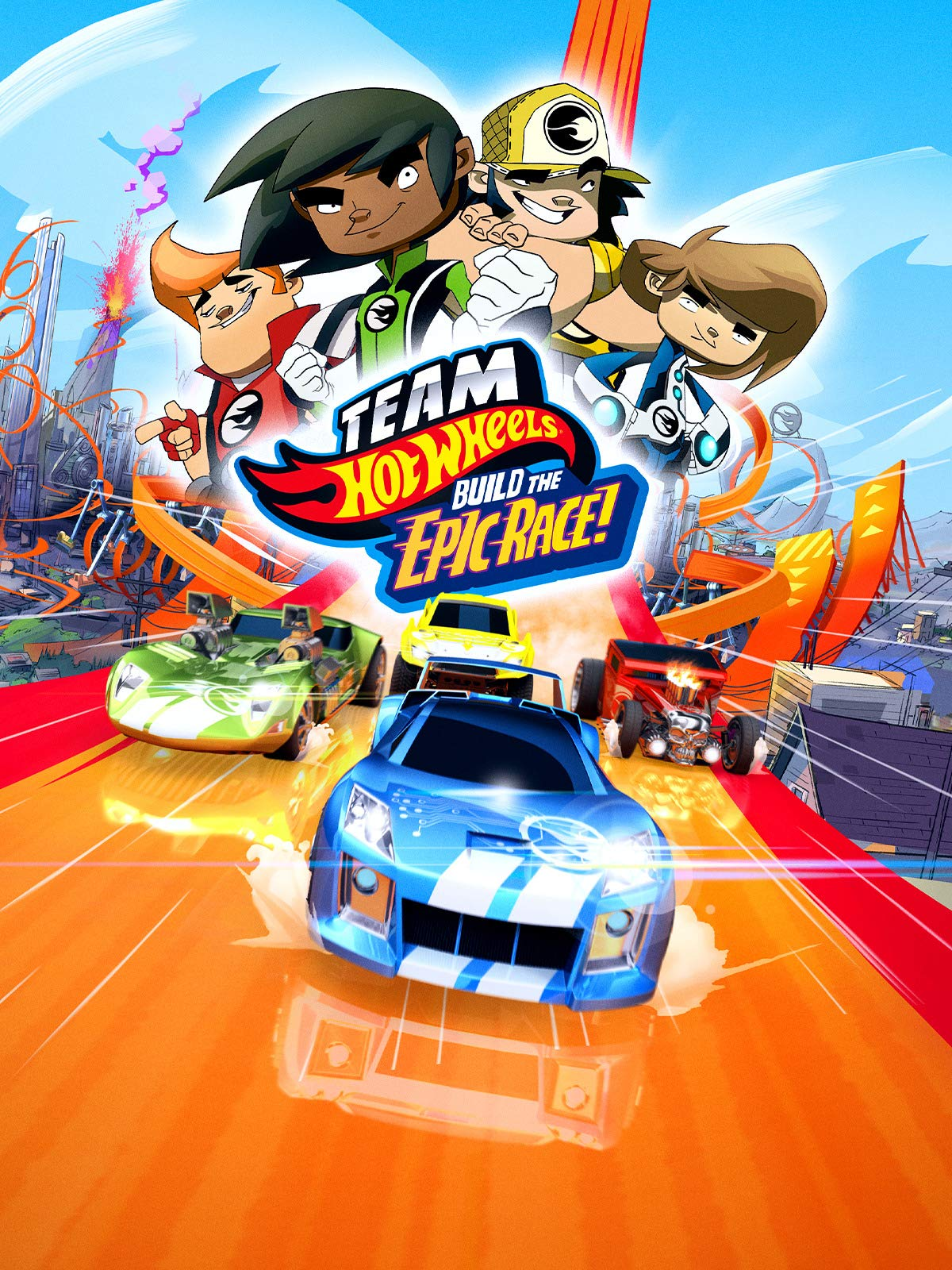 Team Hot Wheels, Build the Epic Race