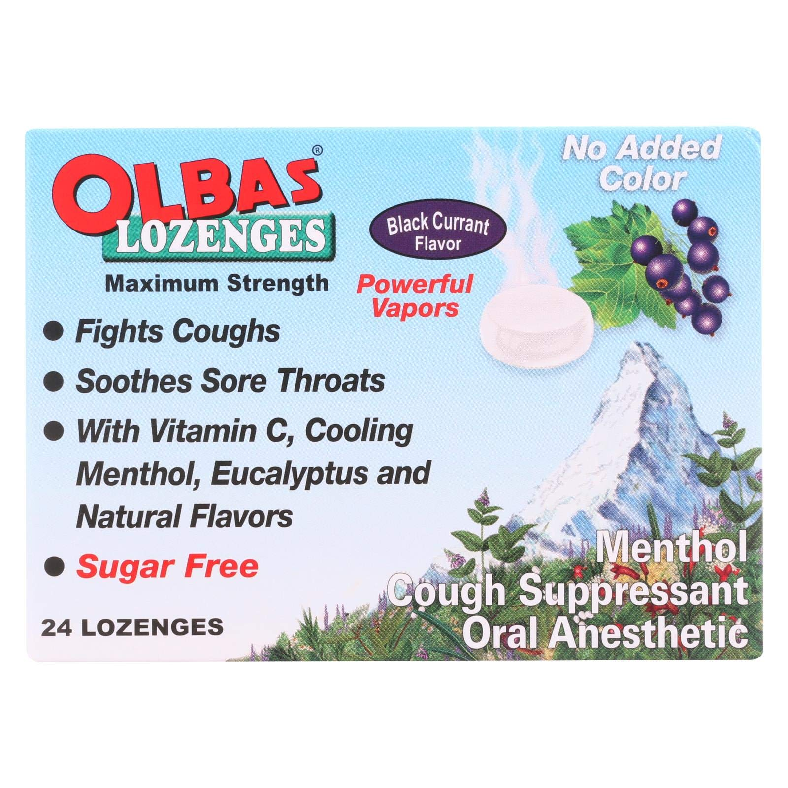 Olbas Lozenge, 24 per pack - 12 packs per case. by Olbas