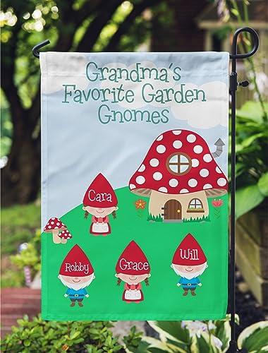 Mothers Day Grandma Garden Flag Garden Gnomes