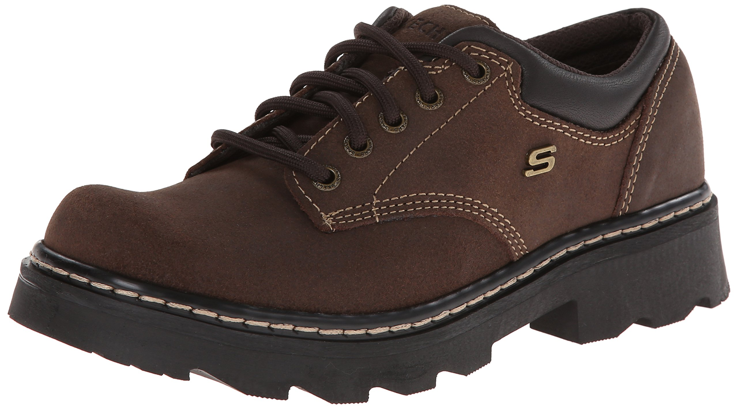ویکالا · خرید  اصل اورجینال · خرید از آمازون · Skechers Women's Parties-Mate Oxford,Chocolate Suede Leather,8 M US wekala · ویکالا