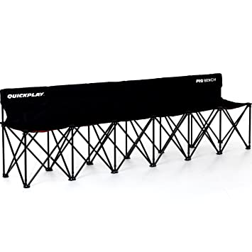 Lovely QUICKPLAY PRO Portable Folding Bench (6 Seats, Folding Bench 6)
