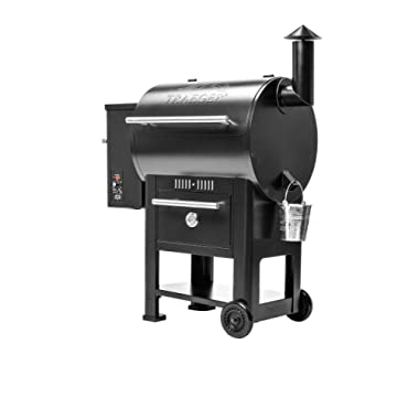 Traeger Grills TFB57CLB Century 22 Pellet Grill and Smoker, 572 Sq. In. Cooking Capacity, Black