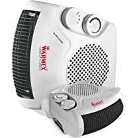 Warmex Home Appliances 2000 W Fan Heater with over Heat Protection (White)