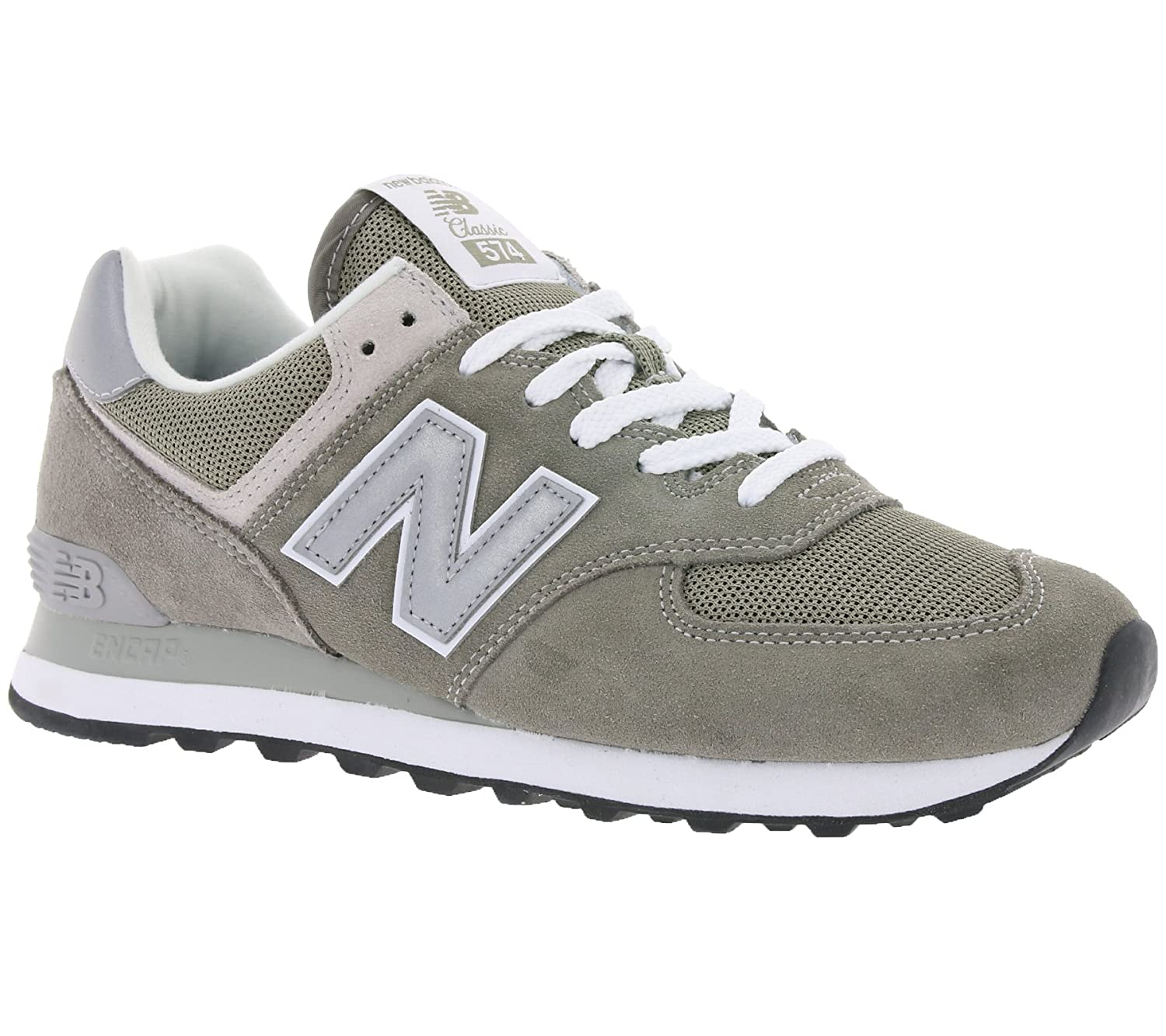 New Balance Herren Ml574E Sneaker,  45 EU|grey