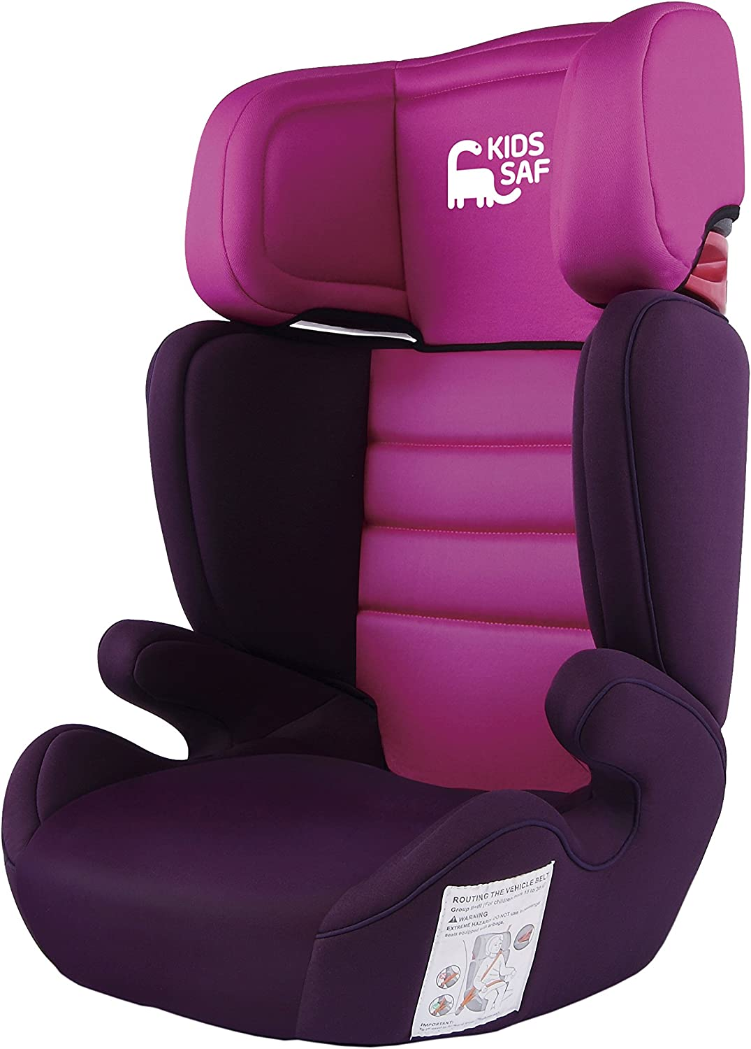 Grupo 2 Kids Safe KS700PK Silla KS700 Color Rosa 3