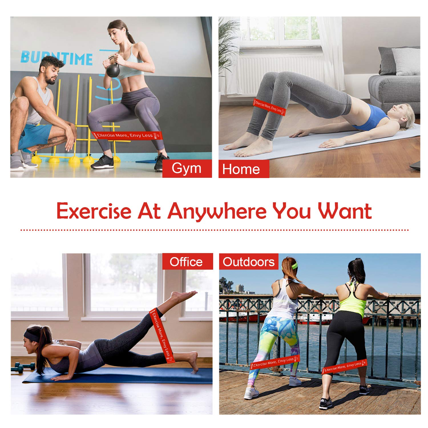 Guide Exercises Fitness Bands-eBook fitness bands