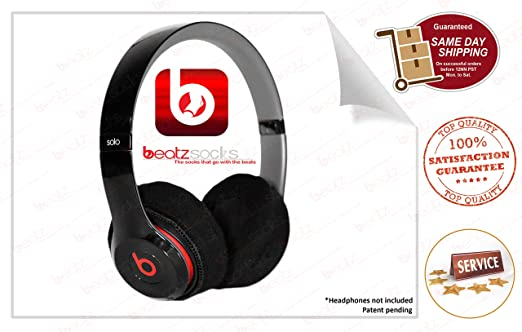 Amazon.com: Washable Headphone Covers for Beats Solo 2 Earpads / Alternative to Replacement Ear pads: Home Audio & Theater