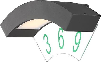 Globo lampada a led bender per illuminare numero civico