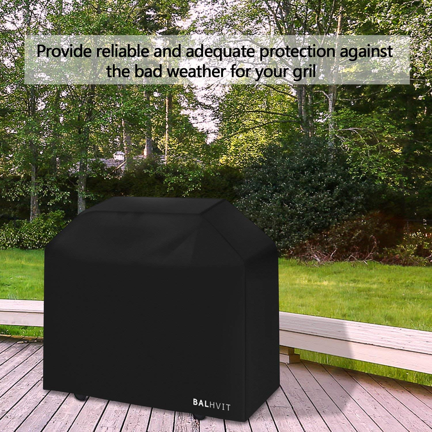 Char Broil L:57 W: 24 H:46 JennAir Brinkmann Anti-UV Rip-resistant Waterproof Gas BBQ Cover Prefect for Weber 210D Oxford Fabric Barbecue Covers Grill Cover