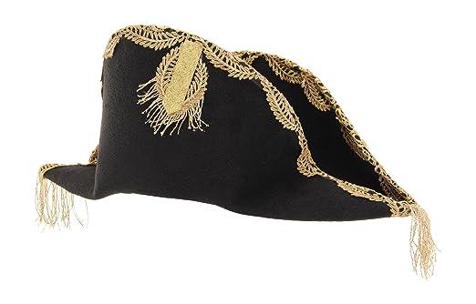 a7fca758f4858 Amazon.com  elope Disney Pirates Captain Barbossa Hat  Clothing