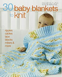 97346b282fcd 35 Knitted Baby Blankets  For the nursery