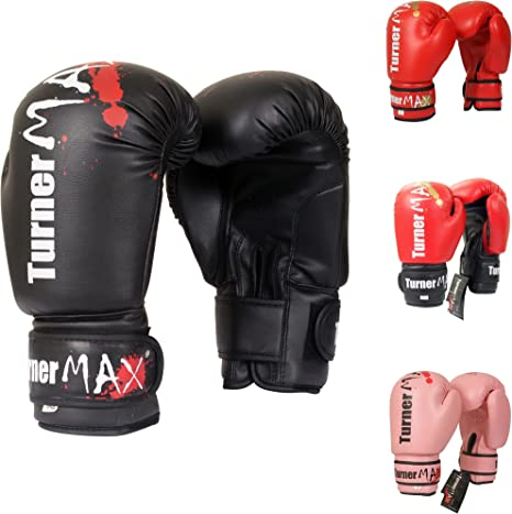 TurnerMax MMA Grappling Training Mitts Kick Boxing gloves Sparring Punch MMA