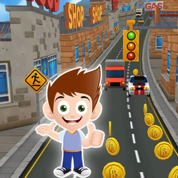 Subway Kid Surfers: Nano Ninja Run Game