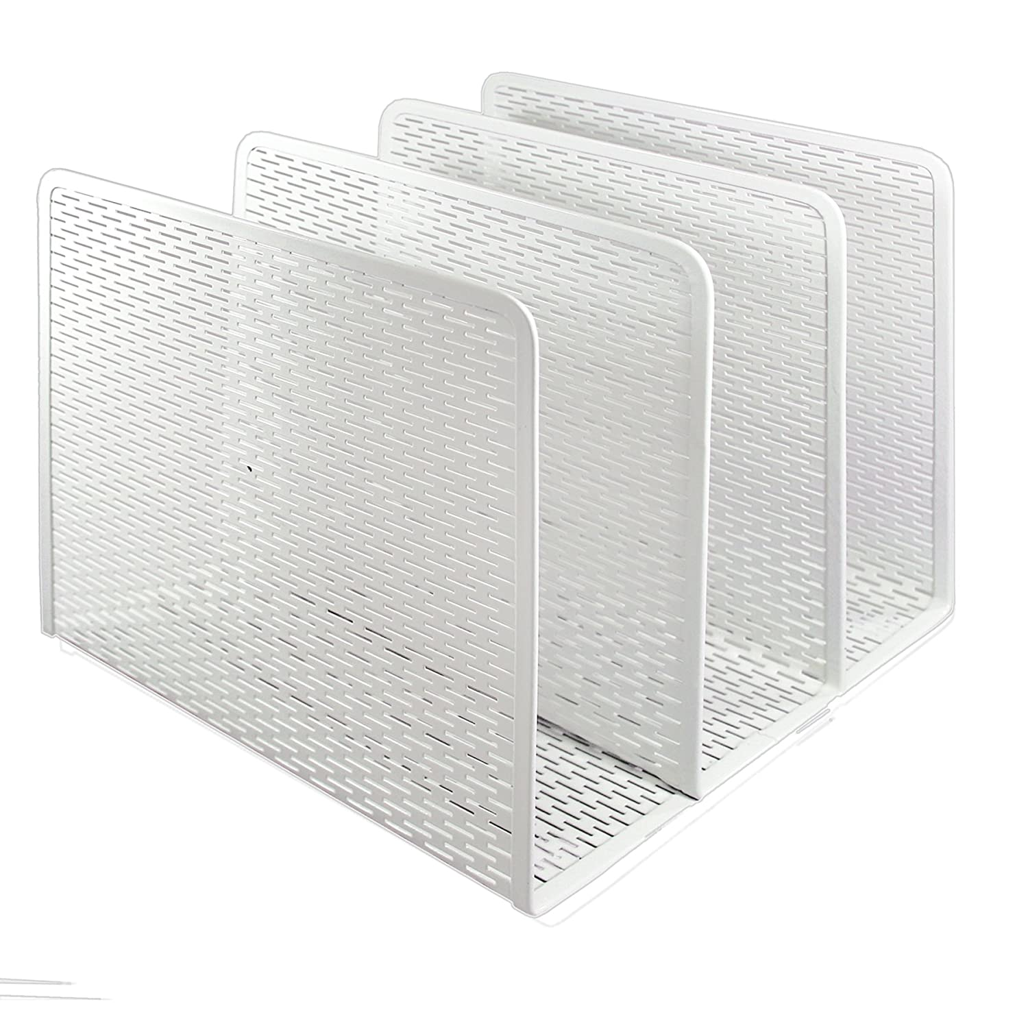 Artistic ART20009WH Urban Collection Punched Metal File Sorter, White
