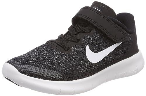 buy popular 32fa3 a630b Nike Free Rn 2017 Psv Scarpe Running Unisex - Bambini, Nero (Black/White