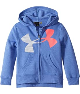 Little Kids Under Armour Kids Girls Big Split Logo Hoodie