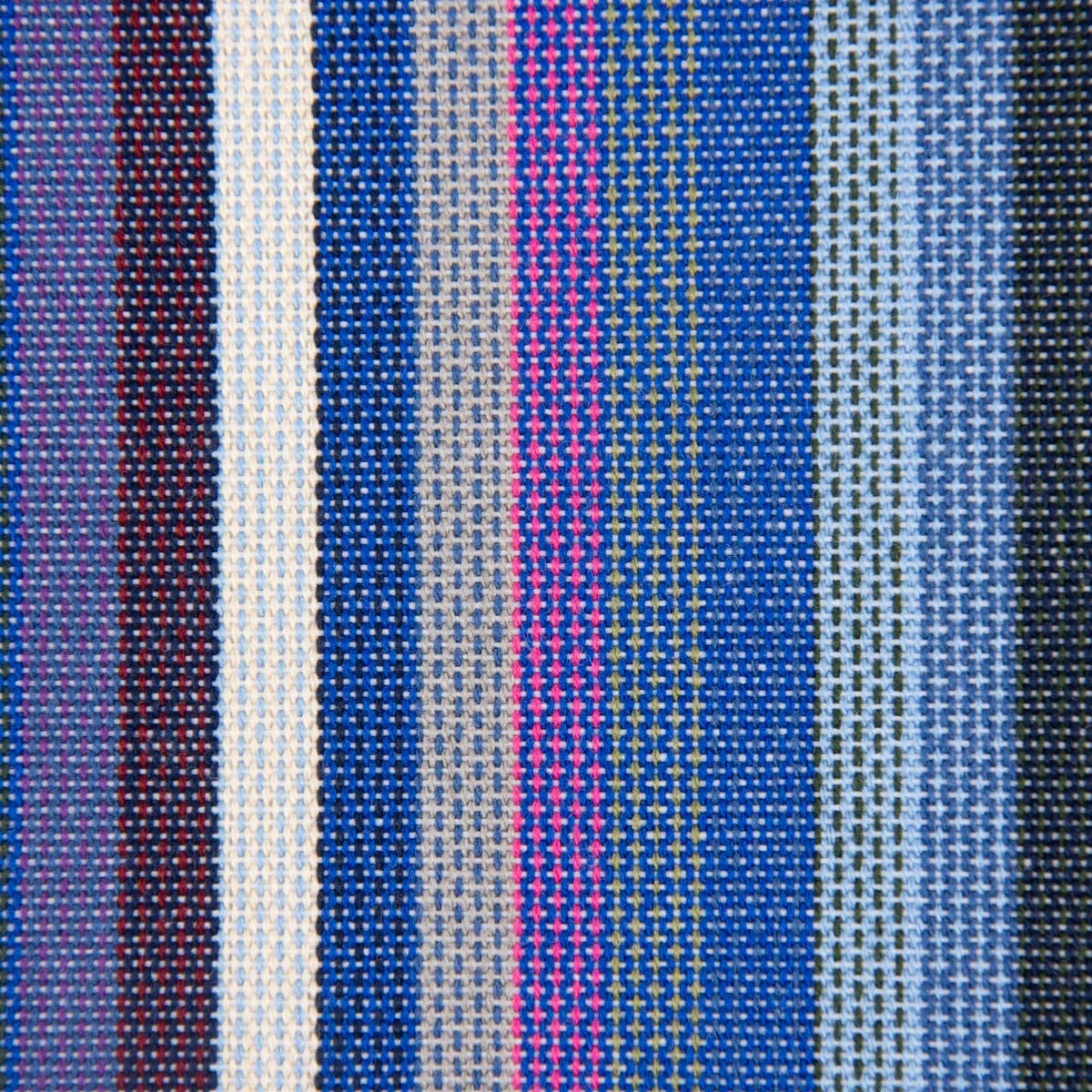 SCHÖNER LEBEN. Buena Vida. Tela para toldo de Exterior para Muebles de jardín, a Rayas, Azul, marrón, Rosa, Gris, 160 cm: Amazon.es: Hogar