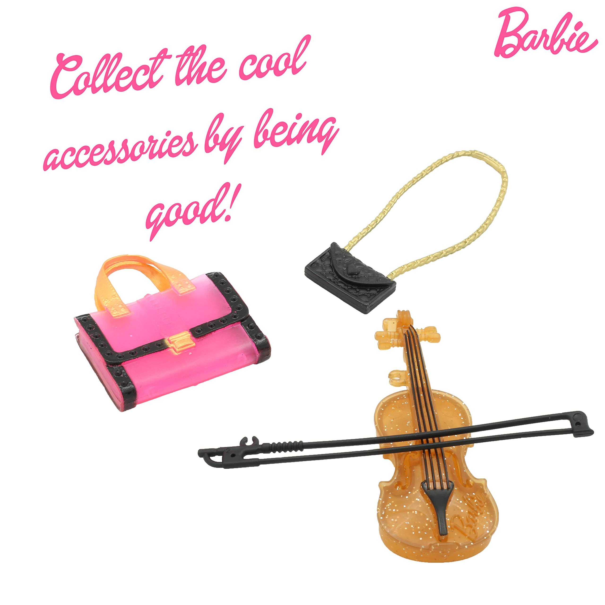 Barbie Pink Envelope Dress Up Sets Fashion Doll Rewards for Girl