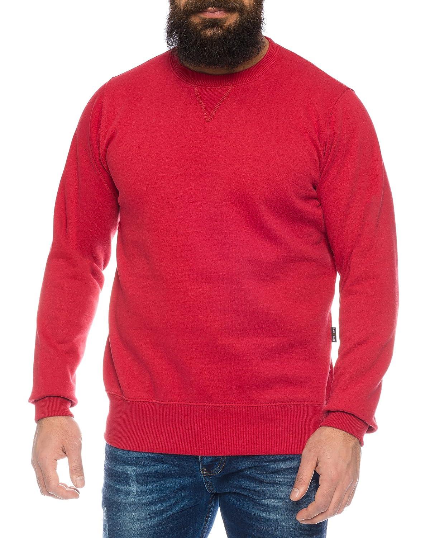 Raff&Taff Herren Sweatshirt Pullover inkl. Übergröße bis 8XL mehrere Farben ID564