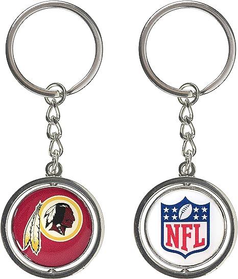 aminco Washington Redskins – NFL Spinning Logo Llavero: Amazon.es ...