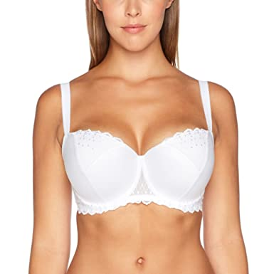 d1548e6cf19b8 Image Unavailable. Image not available for. Color  Wonderbra Modern Chic Balconette  Push-Up Bra White