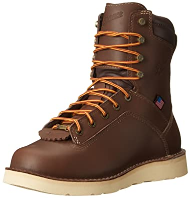 Danner Men's Quarry USA 8 inch Wedge Work Boot, Brown, ...