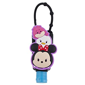 Disney Parks Pluto Hand Sanitizer Holder Bag Hanger Keychain
