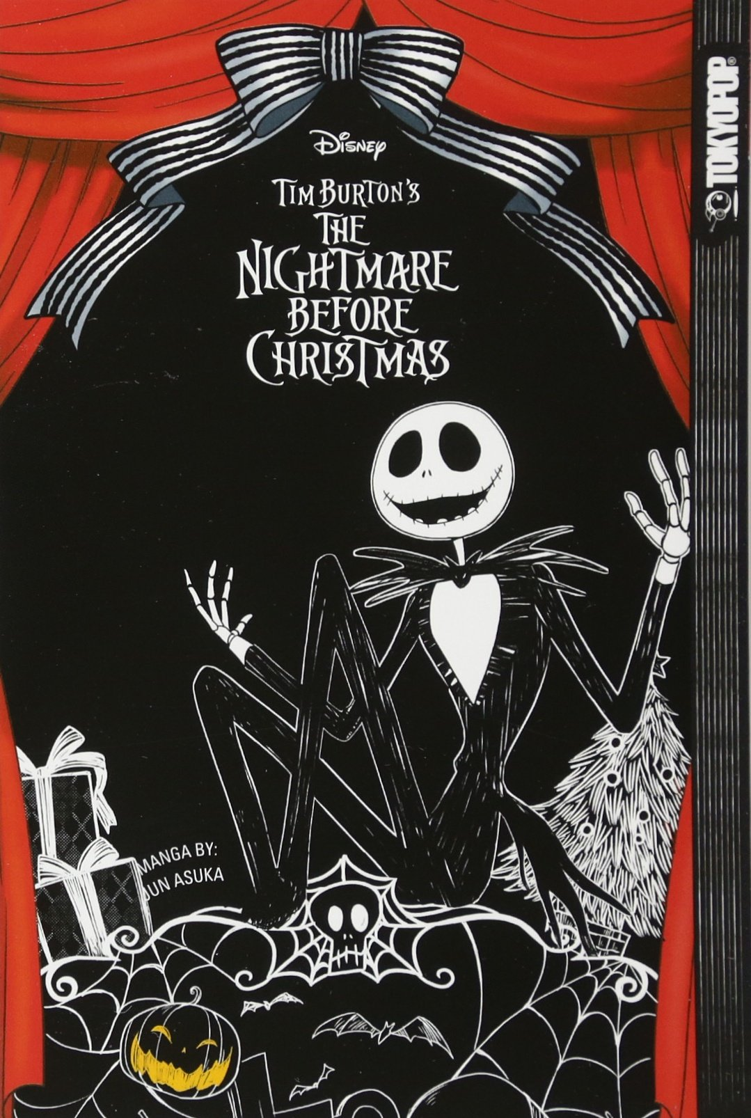 Tim Burton Nightmare Before Christmas Artwork.Disney Manga Tim Burton S The Nightmare Before Christmas