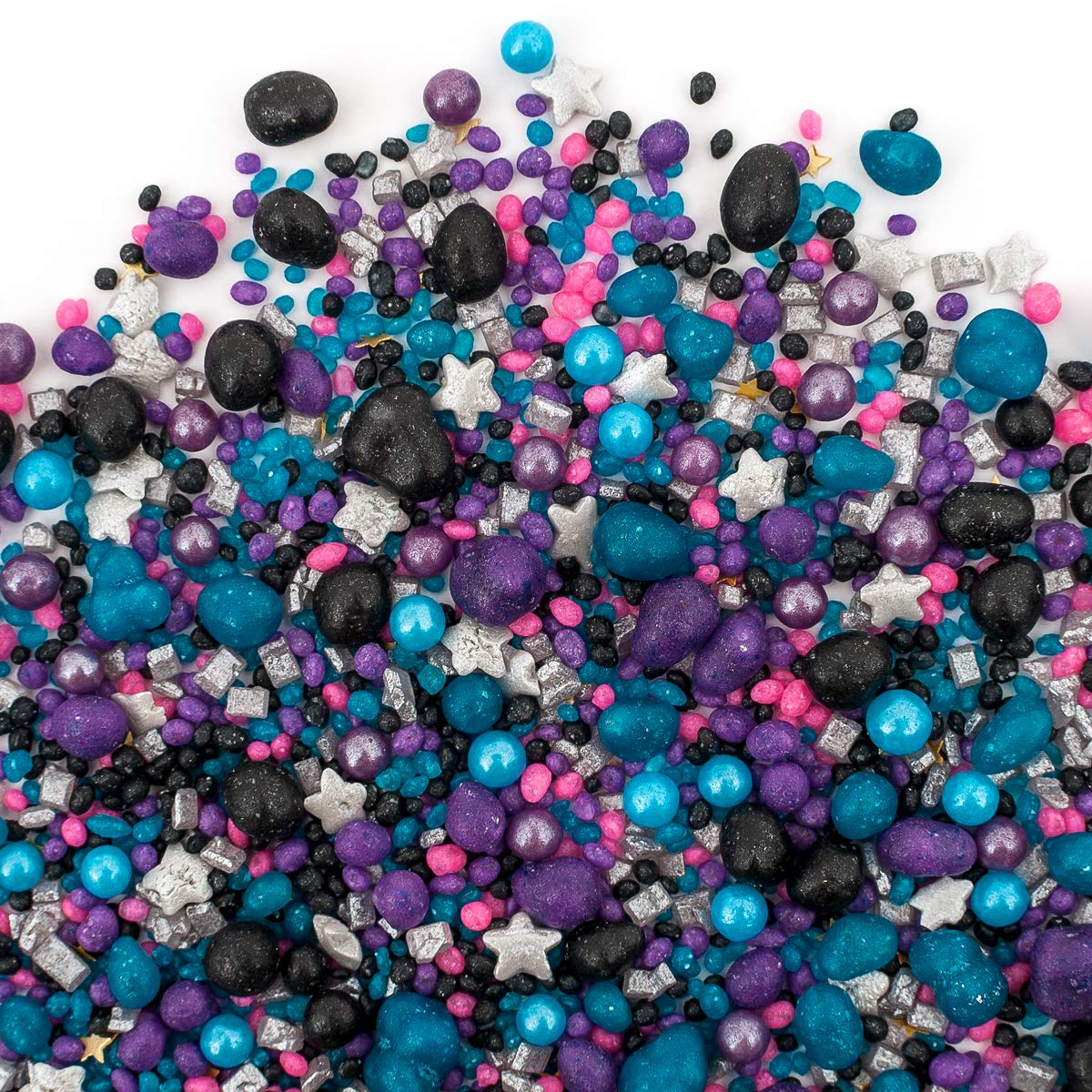 Sweets Indeed Sprinklefetti Galaxy Sprinkles (Galaxy Candy Sprinklefetti, 8 Ounce)
