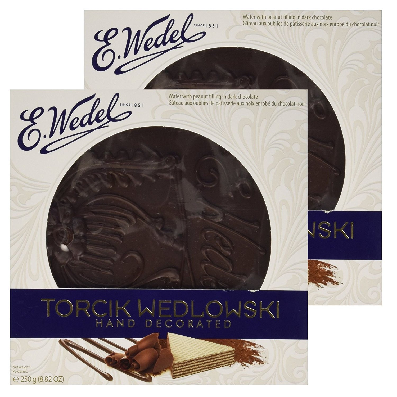 Torcik Wedlowski - Chocolate Wafer Tart - 2 packages!