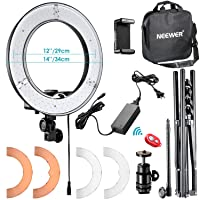 Neewer RL-12 LED Ring Light 14-in outer/12 w/Light Stand Deals