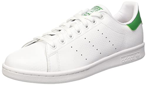 Adidas Stan Smith, Scarpe da Ginnastica Uomo, Bianco (Ftwwht/Ftwwht/Green