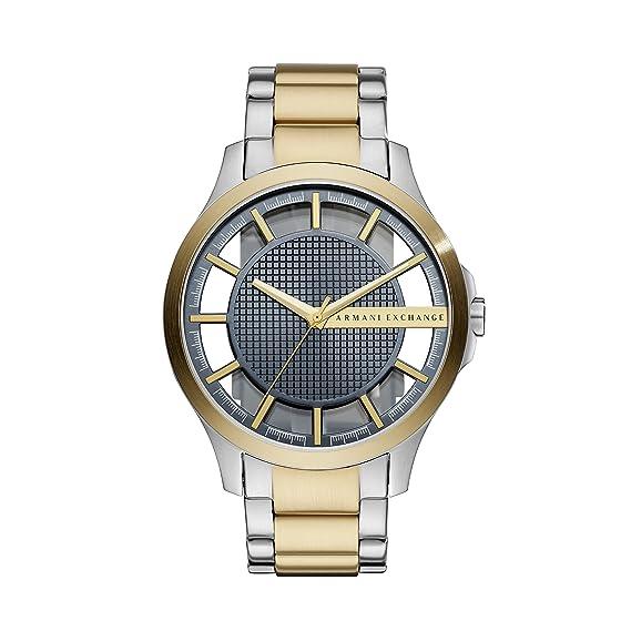 0f8520c5e64a Armani Exchange Reloj Analogico para Hombre de Cuarzo con Correa en Acero  Inoxidable AX2403  Amazon.es  Relojes