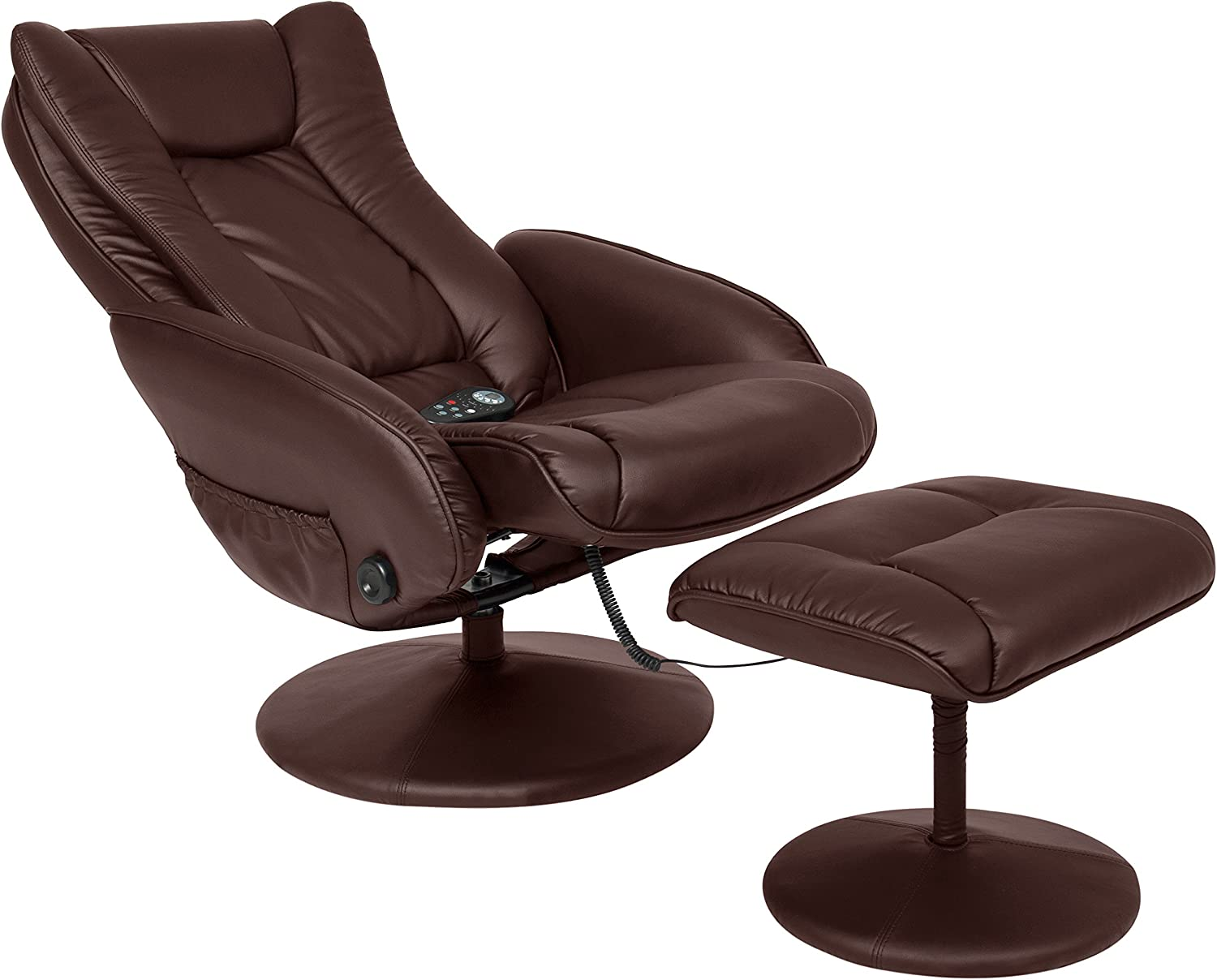 Best Choice Products Recliner Massage Chair reclined