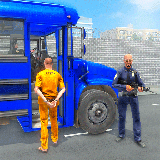 Crime Town Jail Prisoners Transport Van: Police Bus Driving Pro Parking Adventure Robber Car Chase Rush Simulator Best Free Game 2019 (Best Simulation Games 2019)